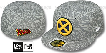 X-Men 'COMIC REFLECT' Fitted Hat by New Era