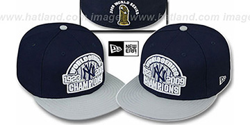 Yankees 1923-2009 WS CHAMPIONS Hat by New Era