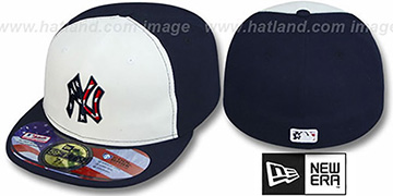 Yankees 2011 STARS N STRIPES White-Navy Hat by New Era