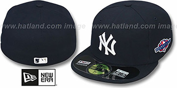 Yankees 2012 PLAYOFF GAME Hat by New Era