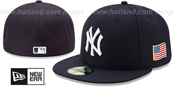 Yankees '2015 STARS-N-STRIPES 911 GAME' Hat by New Era