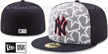 Yankees 2016 JULY 4TH STARS N STRIPES Fitted Hat by New Era