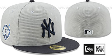 Yankees '2017 JETER DIAMOND ERA ALT' Grey-Navy Hat by New Era