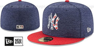 Yankees '2017 JULY 4TH STARS N STRIPES' Fitted Hat by New Era