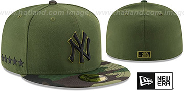 Yankees 2017 MEMORIAL DAY 'STARS N STRIPES' Hat by New Era