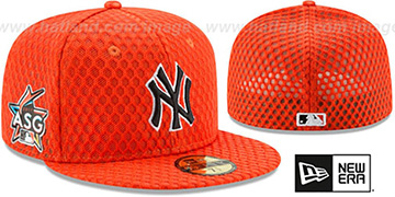 Yankees '2017 MLB HOME RUN DERBY' Orange Fitted Hat by New Era