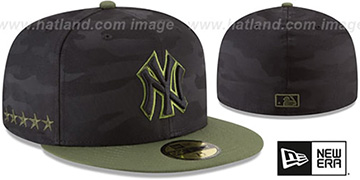 Yankees 2018 MEMORIAL DAY STARS N STRIPES Hat by New Era