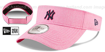 Yankees 2018 MOTHERS DAY VISOR Heather Pink by New Era