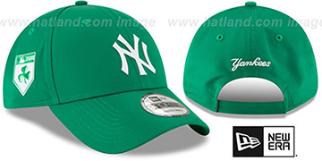 Yankees '2018 ST PATRICKS DAY 940 STRAPBACK' Hat by New Era