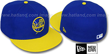 Yankees '2T-FASHION ALTERNATE' Royal-Yellow Fitted Hat by New Era