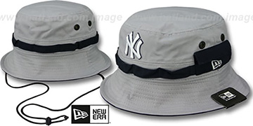 Yankees ADVENTURE Grey Bucket Hat by New Era