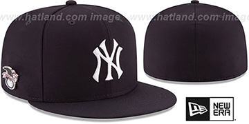 Yankees AL EAST HERITAGE PIN Fitted Hat by New Era