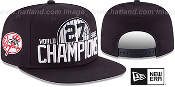 Yankees 'AL EAST WORLD SERIES CHAMPS SNAPBACK' Navy Hat by New Era
