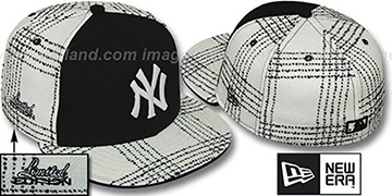 Yankees ARMANI GOLD STAR Fitted Hat by New Era