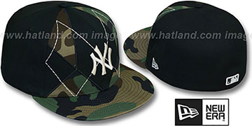 Yankees ARMY CAMO BRADY Fitted Hat by New Era