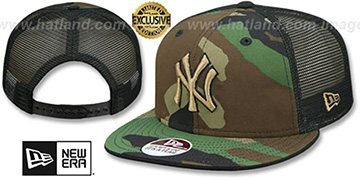 Yankees ARMY CAMO SNAPBACK Adjustable Hat by New Era