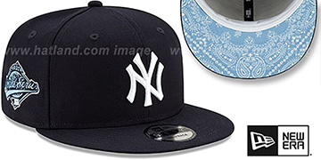Yankees BANDANA SKY BOTTOM SNAPBACK Navy Hat by New Era