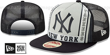 Yankees BANNER FOAM TRUCKER SNAPBACK Hat by New Era