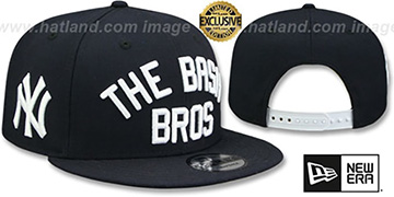 Yankees BASH BROS SNAPBACK Navy Hat by New Era