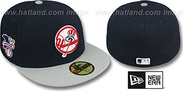Yankees 'BAYCIK' ALT Navy-Grey Fitted Hat by New Era