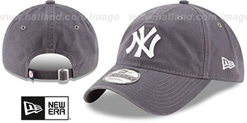 Yankees 'CORE-CLASSIC STRAPBACK' Grey Hat by New Era