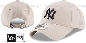 Yankees 'CORE-CLASSIC STRAPBACK' Stone Hat by New Era