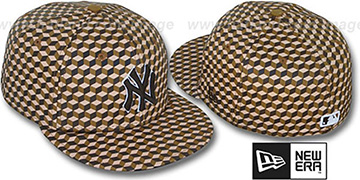 Yankees 'CUE-BERT' Brown Fitted Hat by New Era