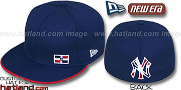 Yankees DOMINICAN FLAWLESS Navy Fitted Hat