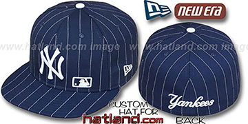 Yankees FABULOUS Navy-White Fitted Hat by New Era