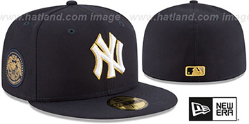 Yankees 'FINEST SIDE-PATCH' Navy Fitted Hat by New Era