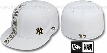 Yankees 'FLAWLESS CUBANO' White-Brown Fitted Hat by New Era