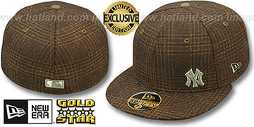 Yankees FLAWLESS HARRIS TWEED Fitted Hat by New Era