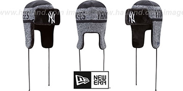 Yankees 'FROSTWORK TRAPPER' Navy Knit Hat by New Era