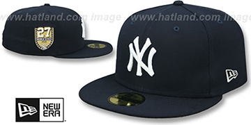 Yankees 'GOLDEN-HIT' Navy Fitted Hat by New Era