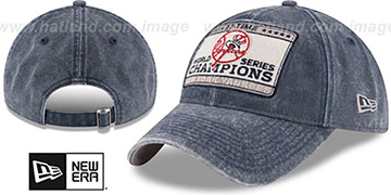 Yankees 'GW CHAMPIONS PATCH STRAPBACK' Navy Hat by New Era
