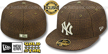 Yankees HARRIS TWEED Fitted Hat by New Era