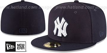 Yankees IRIDESCENT HOLOGRAM Navy Fitted Hat by New Era