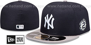 Yankees 'JETER DIAMOND ERA BP' Navy-Grey Hat by New Era