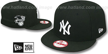 Yankees 'LEAGUE REPLICA SNAPBACK' Black-White Hat by New Era