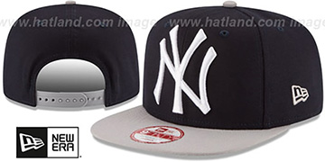 Yankees LOGO GRAND REDUX SNAPBACK Navy-Grey Hat by New Era