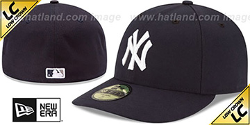 Yankees 'LOW-CROWN' GAME Fitted Hat by New Era
