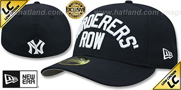 Yankees LOW-CROWN MURDERERS ROW Navy Fitted Hat by New Era