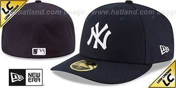 Yankees 2017 LOW-CROWN ONFIELD GAME Fitted Hat by New Era