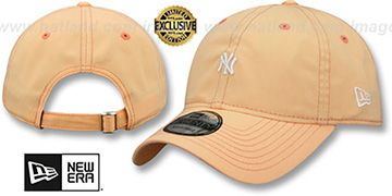 Yankees MINI BEACHIN STRAPBACK Light Orange Hat by New Era