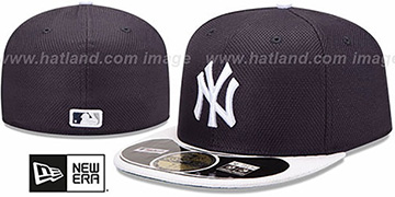 Yankees 'MLB DIAMOND ERA' 59FIFTY Navy-White BP Hat by New Era