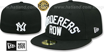 Yankees MURDERERS ROW Black Fitted Hat by New Era