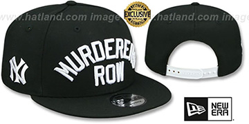 Yankees MURDERERS ROW SNAPBACK Black Hat by New Era