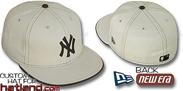 Yankees NATURAL DENIM Fitted Hat by New Era