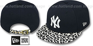 Yankees 'OSTRICH-LEOPARD STRAPBACK' Hat by New Era