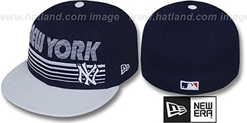 Yankees 'PUNCHOUT' Navy-White Fitted Hat by New Era